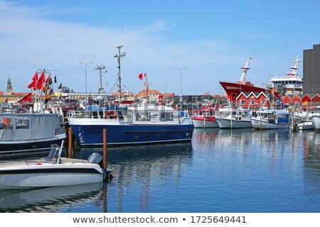 пляж · север · Майорка · лодка · пейзаж · морем - Сток-фото © bdspn