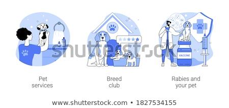 breed club concept vector illustration stock photo © rastudio