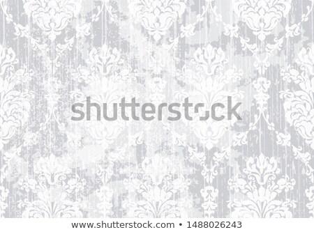Classico elegante ornamento pattern acquerello vettore Foto d'archivio © frimufilms