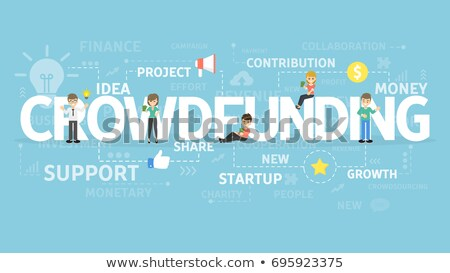 Crowd Funding Stock photo © Lightsource