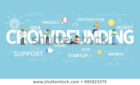 crowd funding stock photo © lightsource