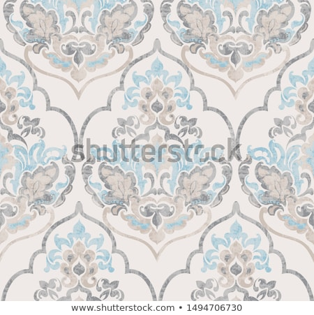 Baroc ornament vector lux acuarela trendy Imagine de stoc © frimufilms