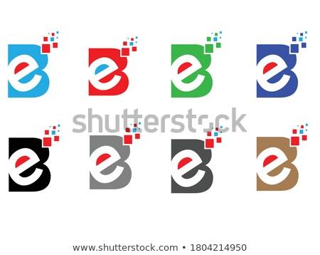 creative variation style of initial letter logo set  Stock photo © krustovin
