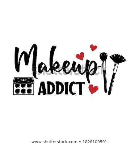 #Lashaddict - Lash addict, addiction. Stock photo © Zsuskaa