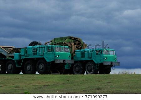 советский цистерна грузовика металл окна Сток-фото © valkos