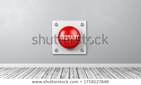 Restart Button in the Room Stock photo © make