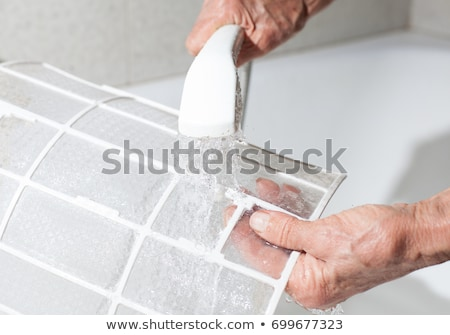 Air Conditioner Filter Cleaning Stock photo © AndreyPopov