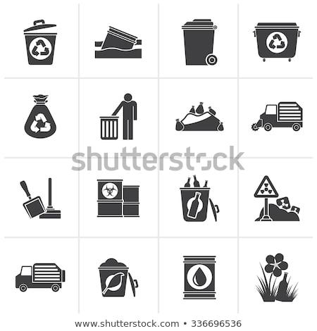 promieniowanie · podpisania · biały · komputera · wygenerowany · obraz - zdjęcia stock © dengess