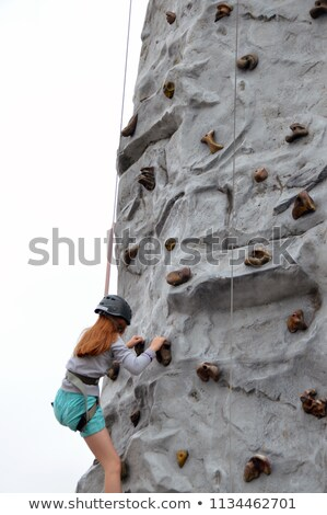 portable rock climbing wall stock photo © 808isgreat