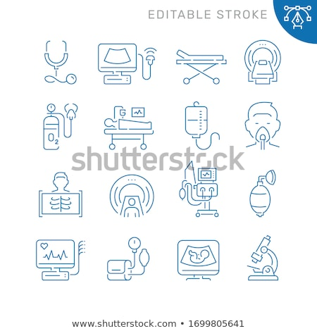 Medicine and hospital equipment icons  Stock photo © stoyanh