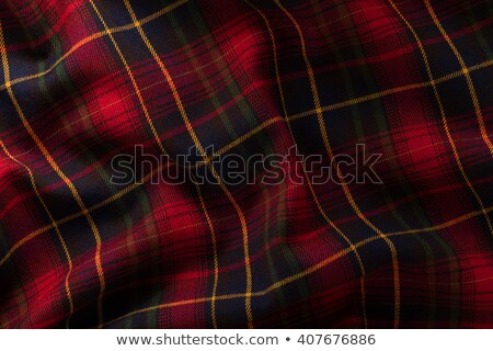 Green fabric drapes with ornament, background stock photo © Ecelop