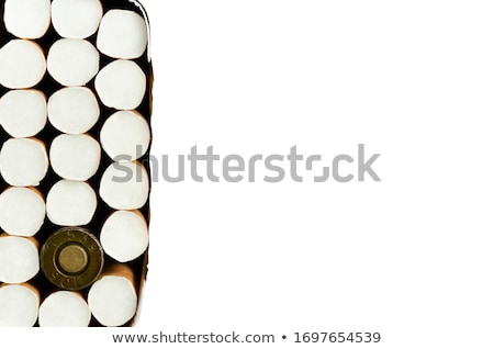 Fumador bala preto concha caso reflexão Foto stock © ShawnHempel