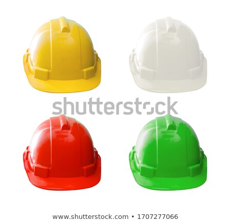red helmet Stock photo © prill