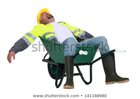Handlowiec pracy człowiek budowy pracownika Zdjęcia stock © photography33