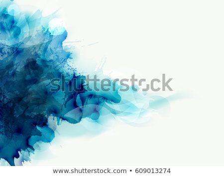Abstract Background With Blue Blob Stock photo © barbaliss