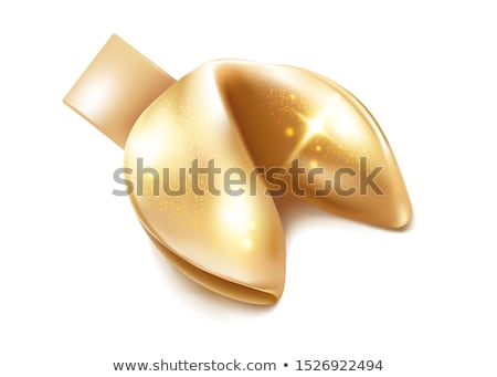 fortune cookie isolated on white background Stock photo © shutswis