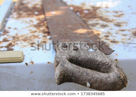 Stock photo: Old Saw