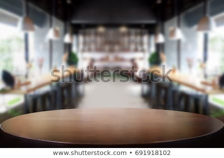 Restaurant Table Stock photo © Sportlibrary