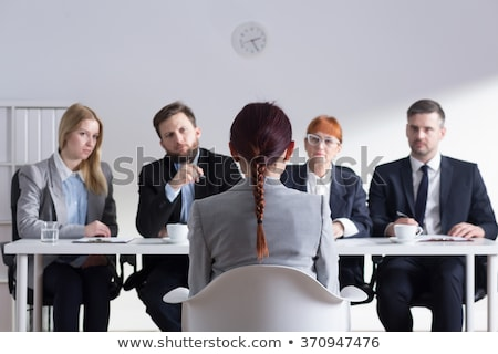 Businessman interviewing a job applicant Stock photo © photography33