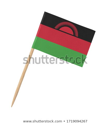 Miniature Flag of Malawi (Isolated) Stock photo © bosphorus