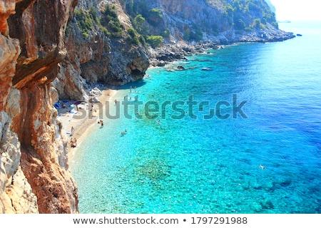 海 海岸線 ドゥブロブニク 風光明媚な クロアチア ストックフォト © rognar