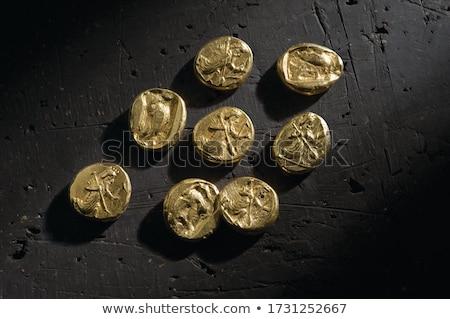 Raro moneda cambio uno centavo piezas Foto stock © tab62