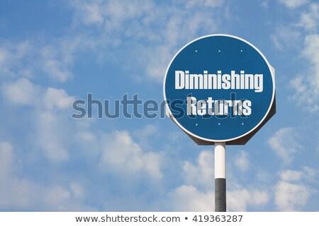 Diminishing Returns Stock photo © Lightsource