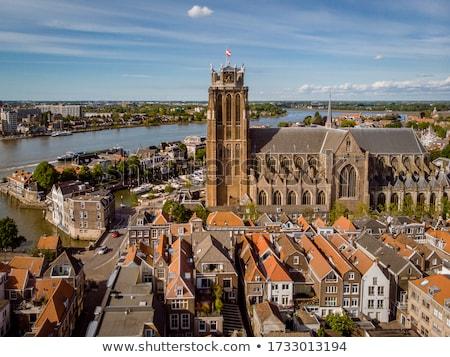 Interior old Dutch church  Stock photo © ivonnewierink