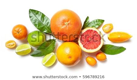 gyümölcsök · étel · gyümölcs · koktél · reggeli · banán - stock fotó © M-studio