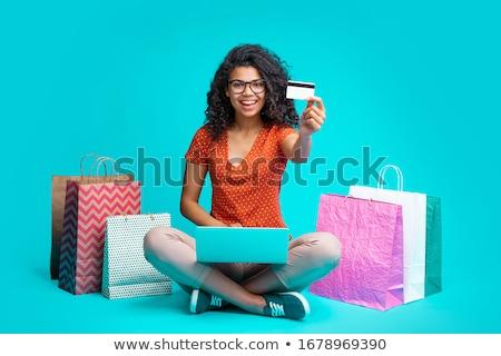 кредитных · кредитных · карт · рыбалки · крюк · зависимость · интернет - Сток-фото © photography33