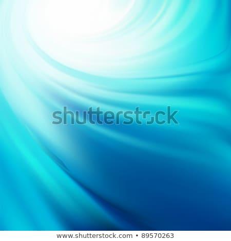 Stock fotó: Kék · hópelyhek · eps · vektor · akta · hó
