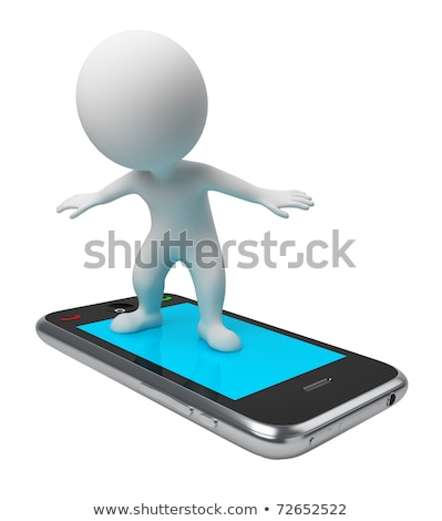 3d small people   sale stock photo © anatolym