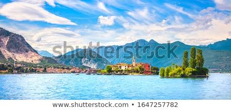 aldeia · lago · paisagem · Suíça · edifício - foto stock © fisher