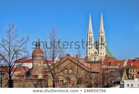 Stockfoto: Europa · toren · stad · kathedraal · middeleeuwse · Duitsland