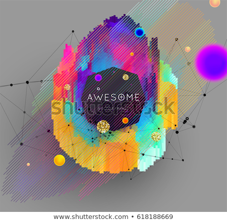 data analysis concept vintage design stock photo © tashatuvango