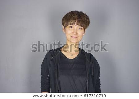 Fej vállak portré vonzó kínai nő Stock fotó © monkey_business