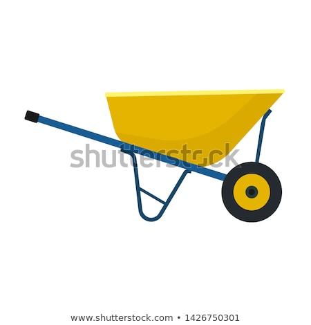 the wheelbarrow Stock photo © flipfine