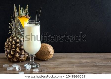 коктейль · вектора · изображение · весело · плодов · сока - Сток-фото © dessters