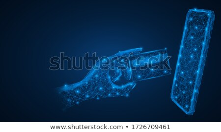 internet shopping and mobile banking concept stock photo © robuart