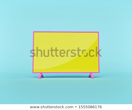 Photo stock: 3d Television Screen