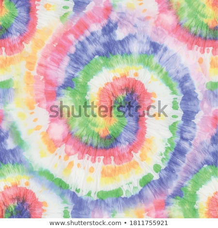 flowers and spirals in seamless pattern stock photo © tatik22