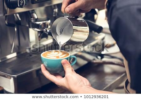 Сток-фото: свободный · горячей · эспрессо · складе · фото
