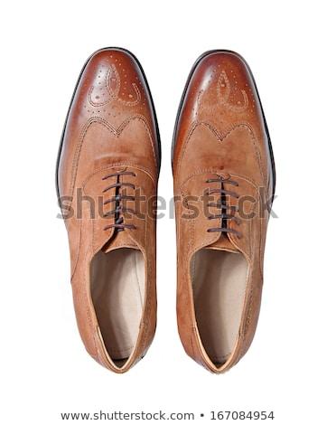 Mens shoe isolated on white Stock photo © vtls