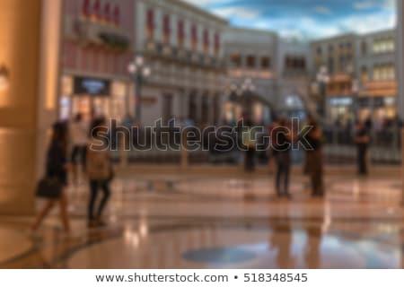 blur crowd of people general public concept stock photo © stevanovicigor