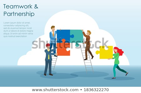 research and development   jigsaw puzzle with missing pieces stock photo © tashatuvango