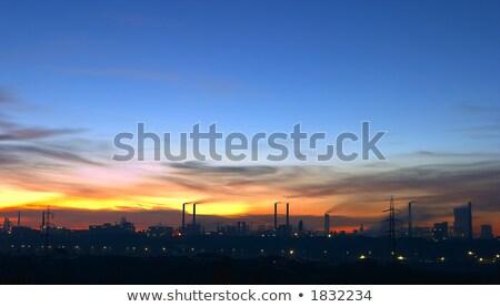 çelik gökyüzü Bina inşaat manzara sanayi Stok fotoğraf © razvanphotos