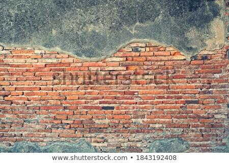 Old brickwork, rustic tone Stock photo © stevanovicigor