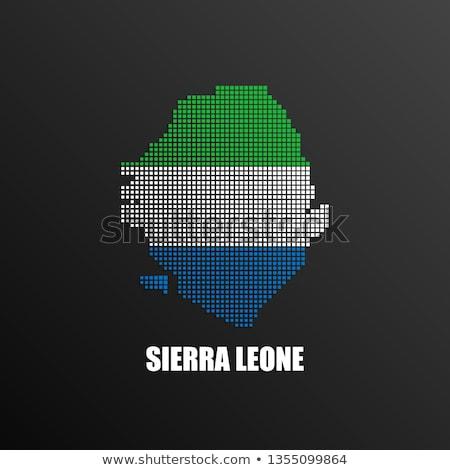 Stock photo: made in sierra leone