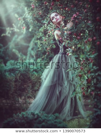 Foto d'archivio: Goth · bellezza · pallido · pelle · trucco