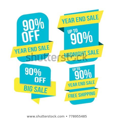 1 day offer blue vector icon design stock photo © rizwanali3d